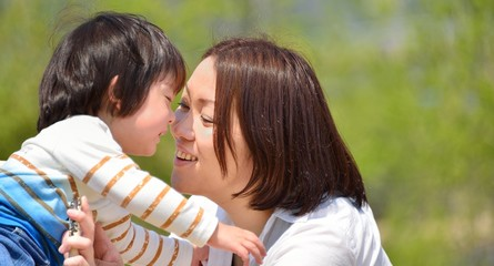 ママとベビー A