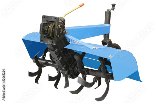 The image of agricultural equipment