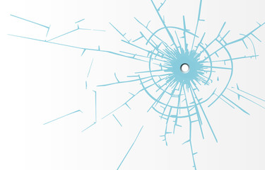 Glas Splitter Loch