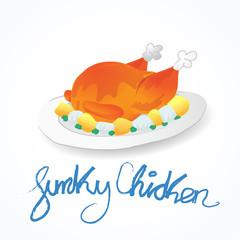 Logo Pollo Funky