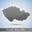 shiny icon in form of Czech Republic