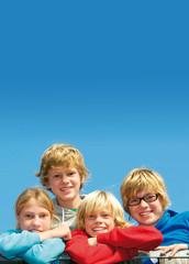 Vier Kids