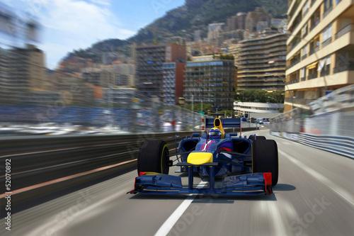 Leinwandbild Motiv racing monaco