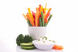 vegetable stick and dip