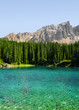 Carezza Lake, Val Di Fassa, Do...