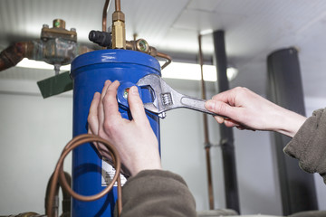 Repair the condenser
