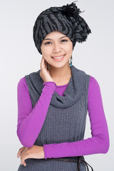 Muslim wearing