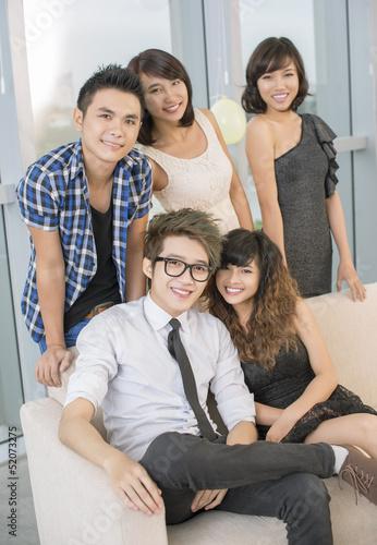 Friend's team