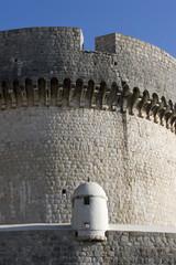Minceta fortress on the city walls, Dubrovnik Croatia