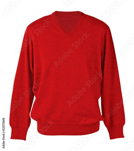 red sweater - 52075868