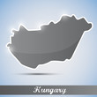 shiny icon in form of Hungary