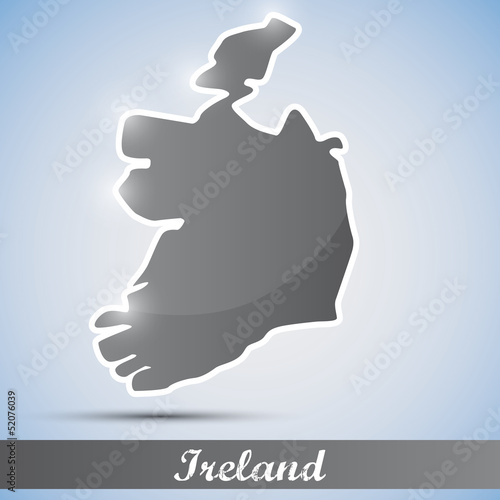 shiny icon in form of Ireland