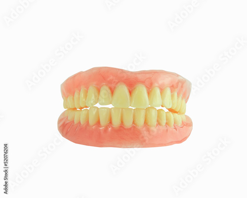Full Denture have stain on teeth