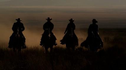 ковбои на лошади