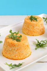 Pudding de zanahoria