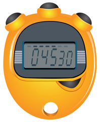 Digit Display Stopwatch