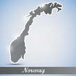shiny icon in form of Norway