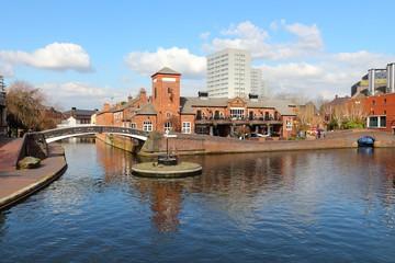 Birmingham canal, England