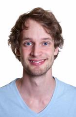 Passfoto eines Studenten