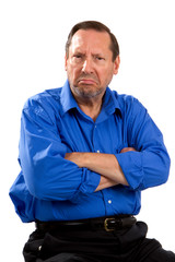 Grumpy Moody Senior