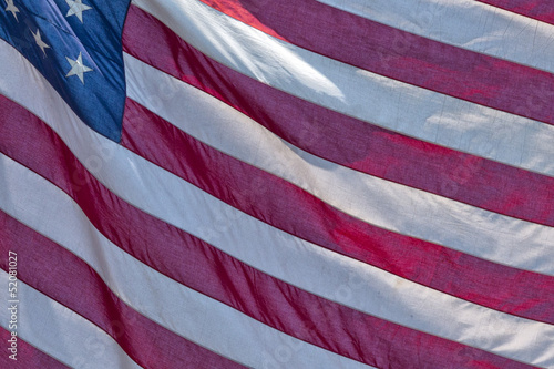 Usa American flag stars and stripes