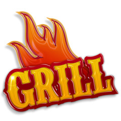 grill label