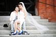 junges wildes Ehepaar