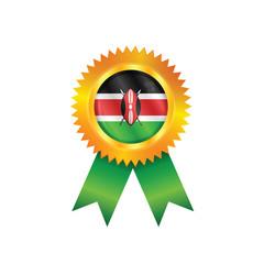Kenya medal flag