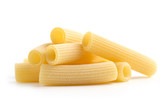 heap of tubular pasta