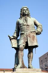 Händel Denkmal Halle - Saale Hallmarkt