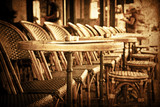 old-fashioned Cafe terrace - 52083632