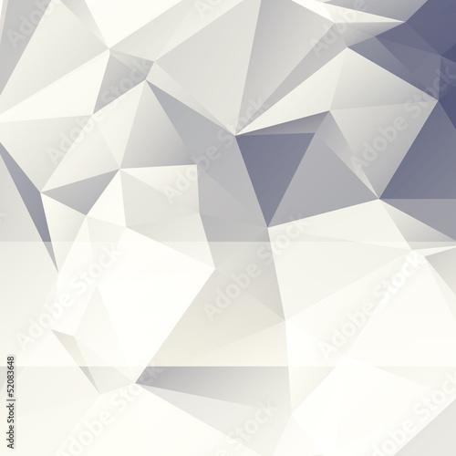 Plakat trójkątny papier abstrakcyjne tło stylu