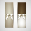 greeting cards with white bows