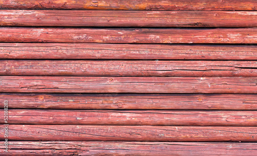 Red wood texture with natural patterns