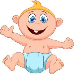 Baby boy cartoon