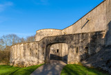 Tour au diable - medieval curtain wall of Metz, Lorraine, France
