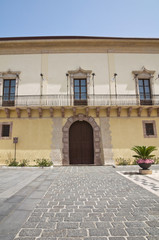 Bishopric Palace. Melfi. Basilicata. Italy.