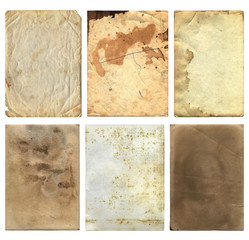 Grunge Old Paper Pieces 2