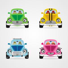 Vecto cute cars