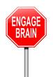 Engage brain concept.