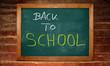 Kreidetafel - Back to School