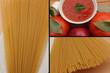 Spaghetti sauce tomate