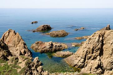 Sardegna, scogliera di Capo Pecora