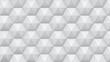 background from hexagonal pyramids