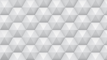 background from hexagonal pyramids