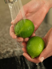 Showering lime