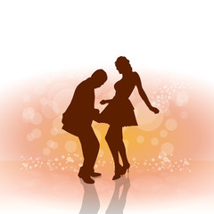 Vector Cover Disc Dance