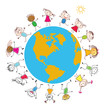 Children around the Earth. Conceptual background.