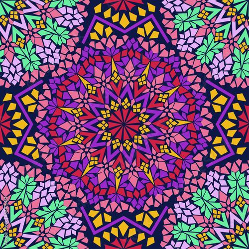 pattern of Moroccan mosaic