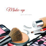Fototapety Colorful make-up products